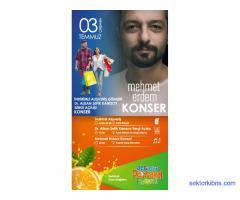Mehmet Erdem Konseri Güzelyurt Portakal Festivali
