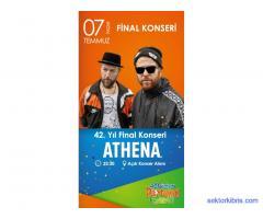 Athena Konseri Final 42. Güzelyurt Portakal Festivali