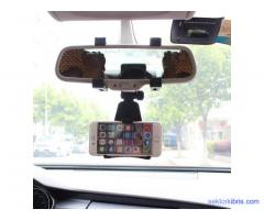 Universal car rear view mirror mount