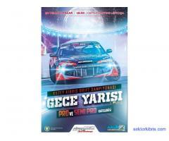 Kuzey Kıbrıs Drift Şampiyonası Gece Yarışı