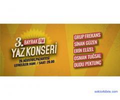 3.Bayrak FM Yaz konseri