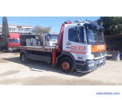 Kantepe road assistance araç kurtarma girne recovery