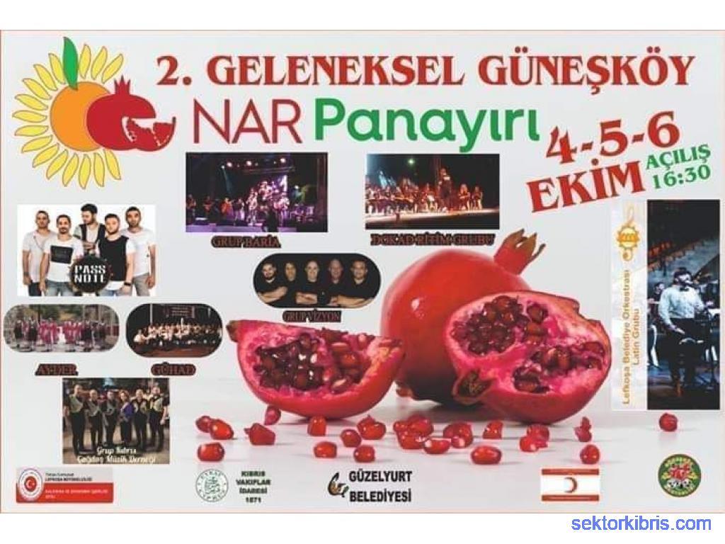 2.geleneksel Güneşköy Nar Panayırı