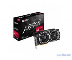 MSI RADEON RX 580 ARMOR GP OC VER 8GB GDDR5 VR READY 4K 256bit AMD Ekran Kartı Kıbrıs